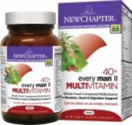 Multivitamin one daily every man 40+ of New Chapter