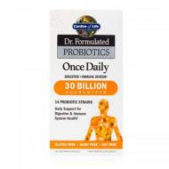 Once Daily probiotiques de Garden of Life 30 milliards